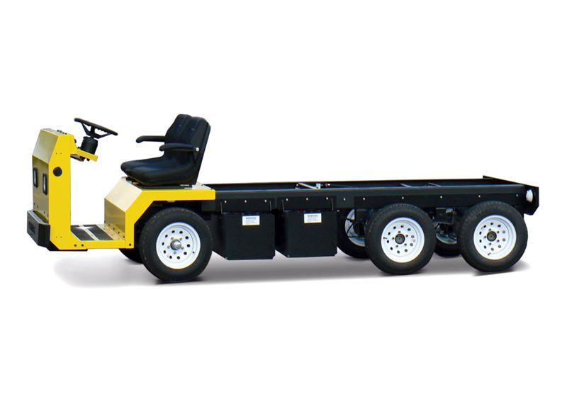 Columbia MVP Electric Vehicle with Tandem Rear drive axles