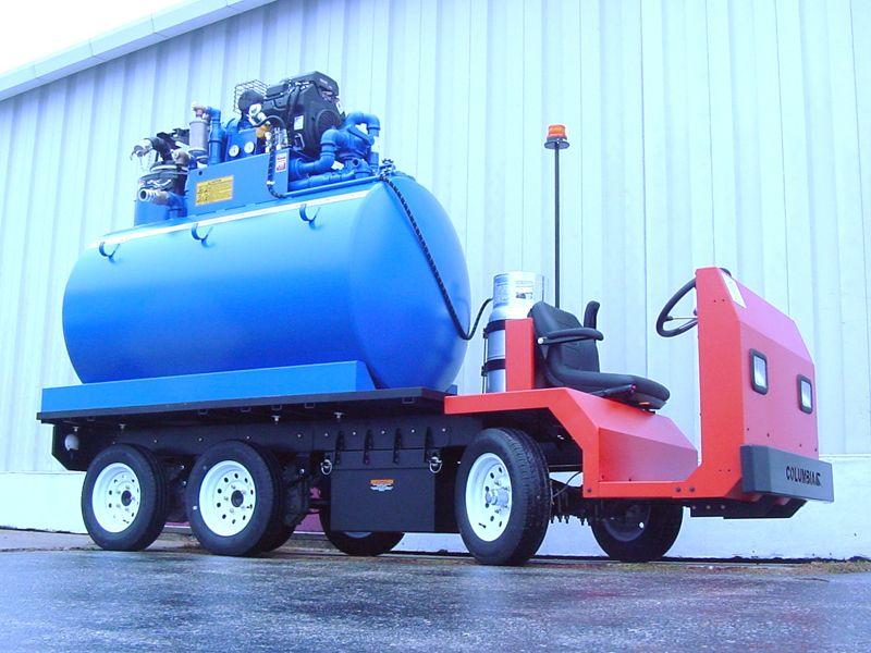 Columbia MVP Electric Vehicle Tank application
