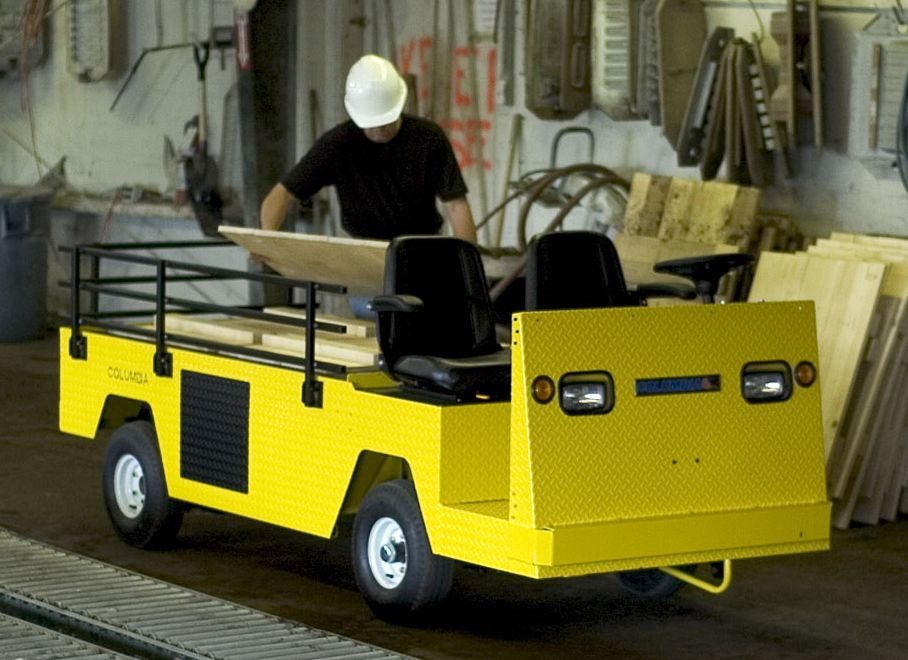 Columbia Payloader Electric Burden Carrier Loading Wood