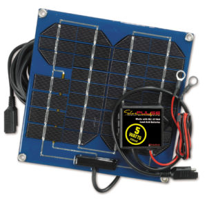 74033 12 Volt Solar Battery Charger 5 Watts, 0.35 amp