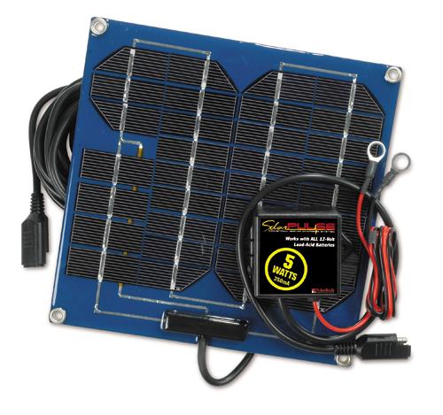 74033 12 Volt Solar Battery Charger 5 Watts, 0.35 amp