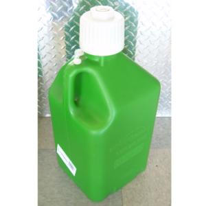 Green 5 gallon fuel jug,5 gallon plastic fuel jug,green 5 gallon utility jug