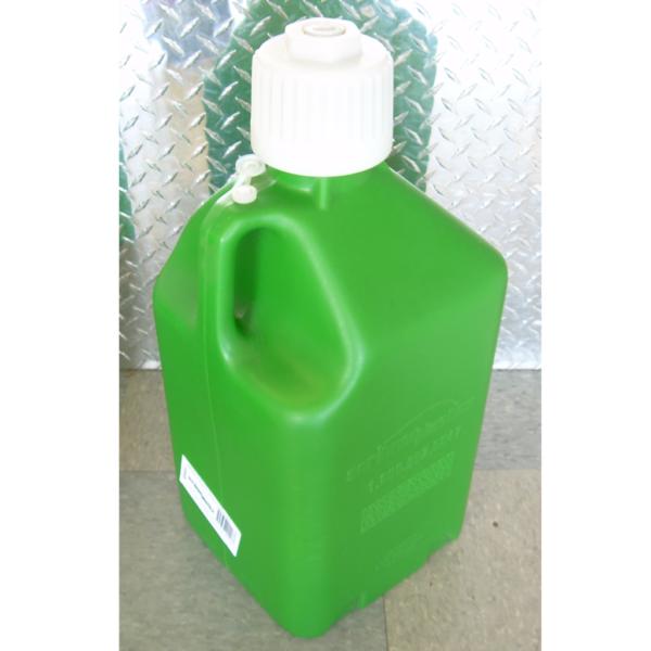 Green 5 gallon fuel jug,5 gallon plastic fuel jug,green 5 gallon utility jug