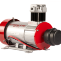 Extremeaire air compressor is a 12-volt high output air compressor with steel air intake