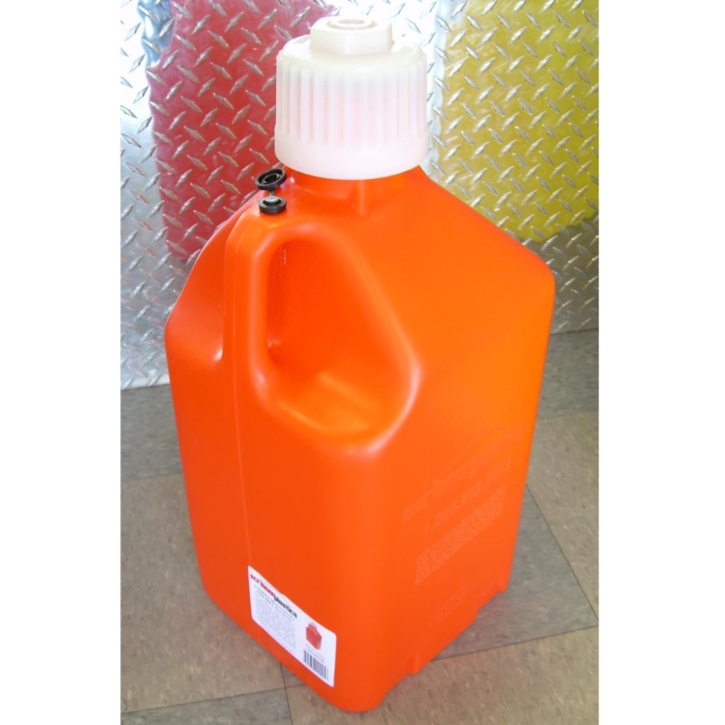 5 gallon orange fuel jug, 5gallon orange utility jug,5 gallon fuel jug,Scribner 5 gallon orange fuel jug