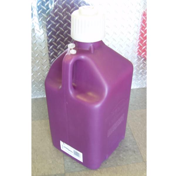 Purple 5 gallon fuel jug,Purple 5 gallon utility jug,Purple Scribner 5 gallon utility jug
