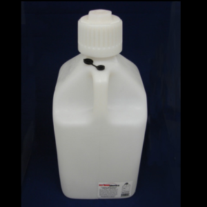 5allon white fuel jug,5 gallon white utility jug,scribner 5 gallon white fuel jug