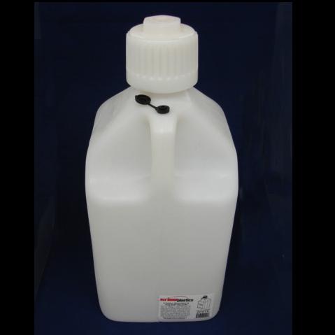 5allon white fuel jug,5 gallon white utility jug,scribner 5 gallon white fuel jug