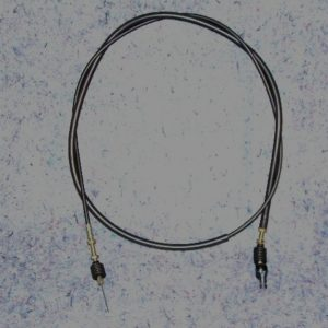 YJU0F631100KT Throttle Cable, Pedal to Governor