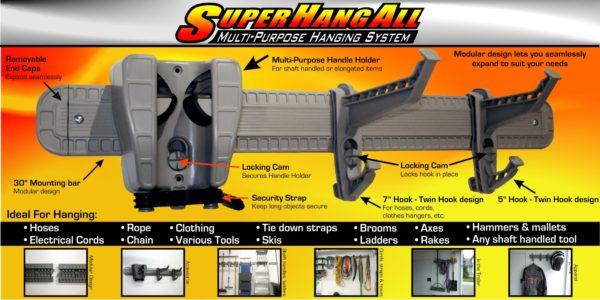 "Wall Bar, Super Hang-All, 28"""