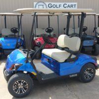 2018 Yamaha Electric Golf Cart Aqua Blue