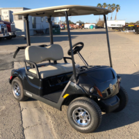 2019 Yamaha EFI Gas golf cart for sale passenger side front view