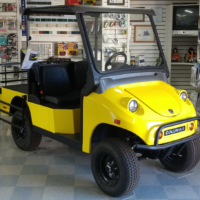 2017 Columbia Heavy Duty Utility Vehicle Yellow