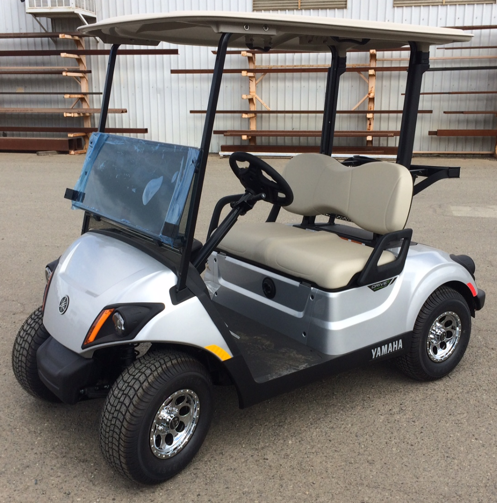 ac electric car motor. 2018 Yamaha AC Electric Golf Cart Metallic Silver Ac Car Motor
