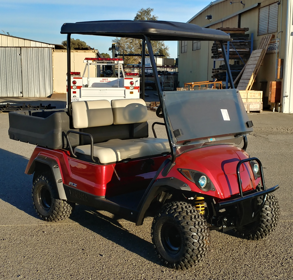 2018 Yamaha Adventurer Sport Gas Jasper Red