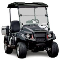 Yamaha UMAX2 gas powered utility vehicle metallic gray studio shot