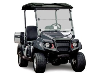 Yamaha UMAX2 gas powered utility vehicle metallic gray studio shot