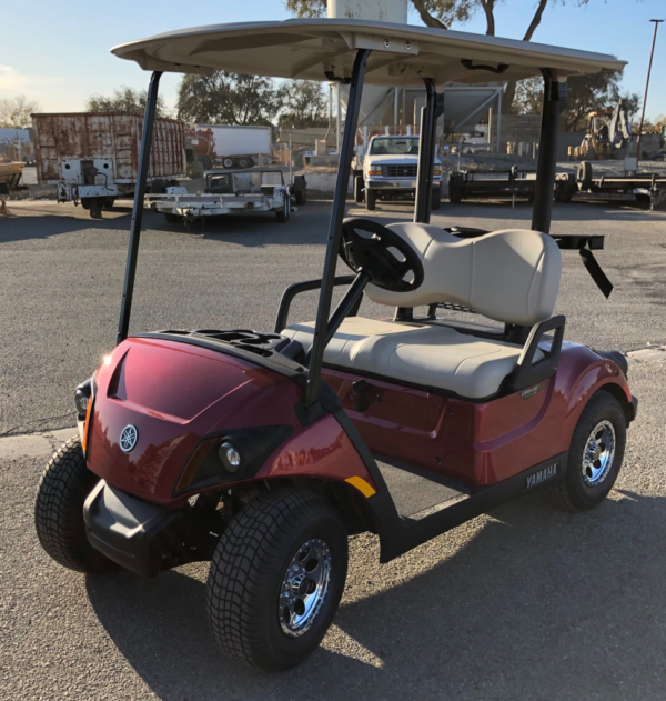 2020 Yamaha EFI Gas Golf Cart for sale driver side front view by Johnson Mfg Woodland CA