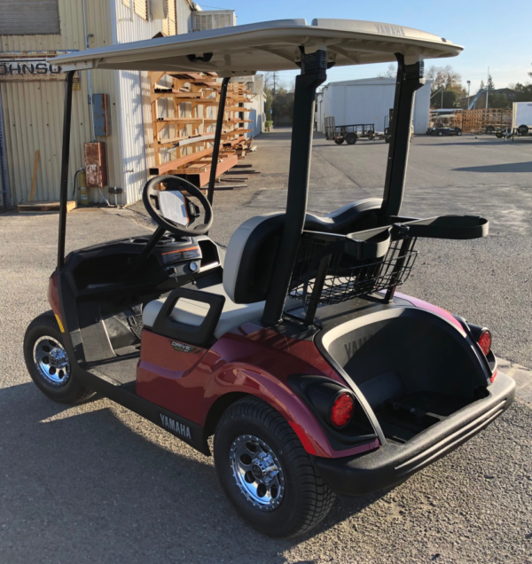 2020 Yamaha EFI Gas Golf Cart for sale driver side rear view