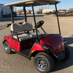 2020 Yamaha EFI Gas Golf Cart for sale passenger side front view