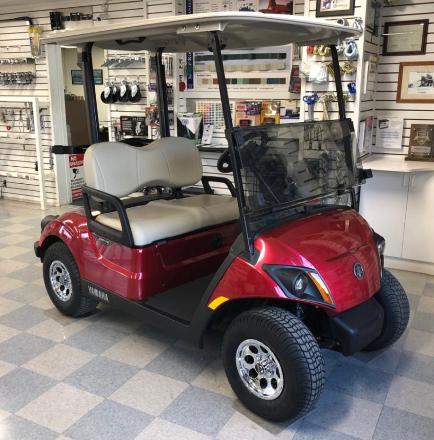 2021 Yamaha Electric Golf Cart Jasper Red - Johnson ...