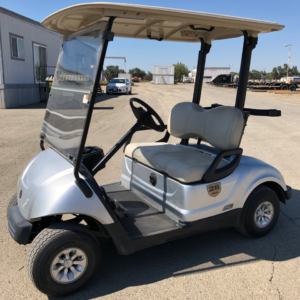 Yamaha 2016 AC Drive electric Golf Cart refurbished excellent condition front drivers side